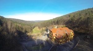 Hotel Heppe von oben